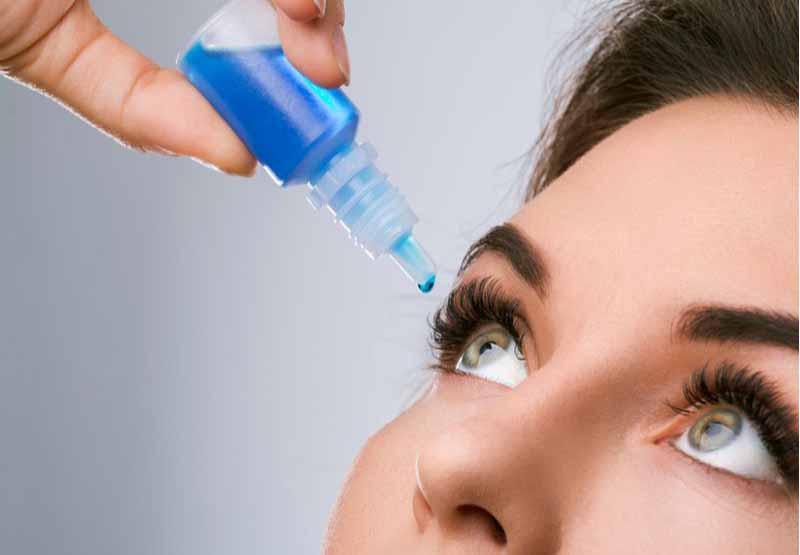 Acetylcysteine trong điều trị chứng khô mắt