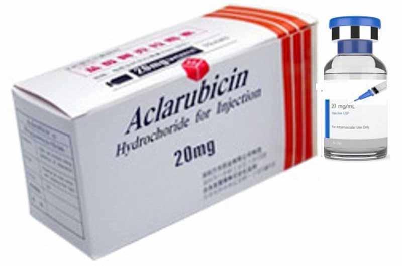 Aclarubicin là thuốc điều trị các bệnh ác tính về máu