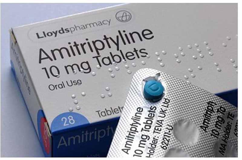 Acrivastine + Pseudoephedrine có thể tương tác với thuốc Amitriptyline