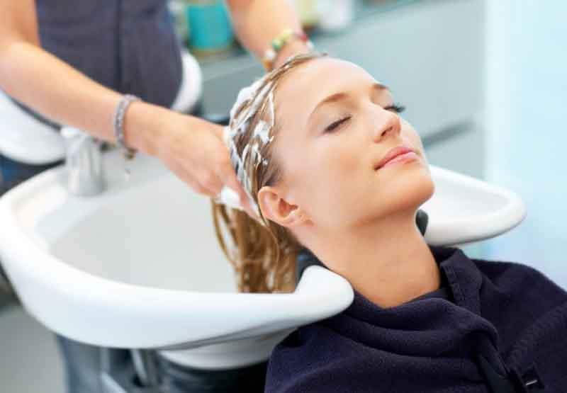 Gội đầu sạch sẽ trước khi dùng thuốc điều trị chấy rận