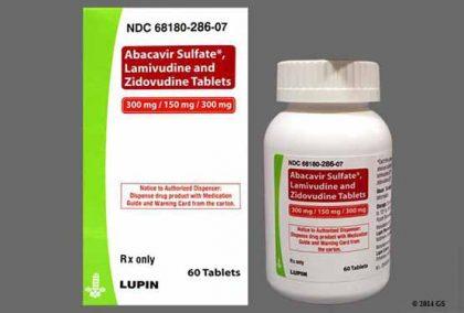 Thuốc Abacavir + Lamivudine + Zidovudine