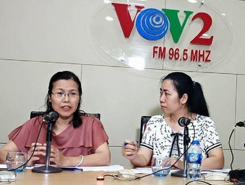 Bác sĩ Nguyễn Thị Vân Anh tư vấn sức khỏe về hội chứng suy nhược cơ thể trên VOV2