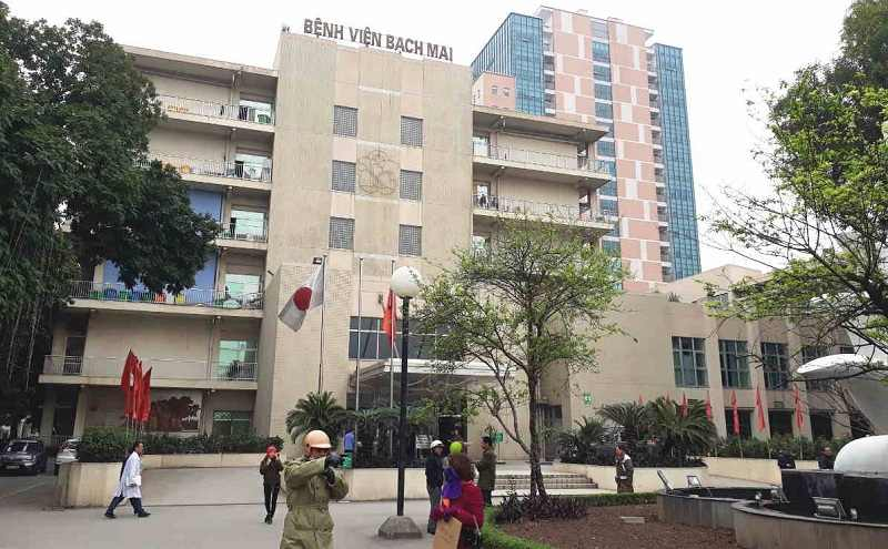 Bệnh viện Bạch Mai là địa chỉ được nhiều bệnh nhân tìm đến