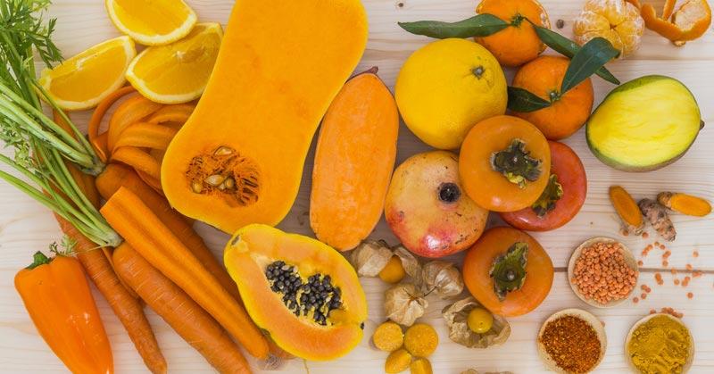Các thực phẩm chứa beta-carotene rất tốt cho bà bầu
