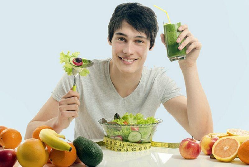 Cân bằng chế độ ăn uống là cách khắc phục yếu sinh lý khá hiệu quả