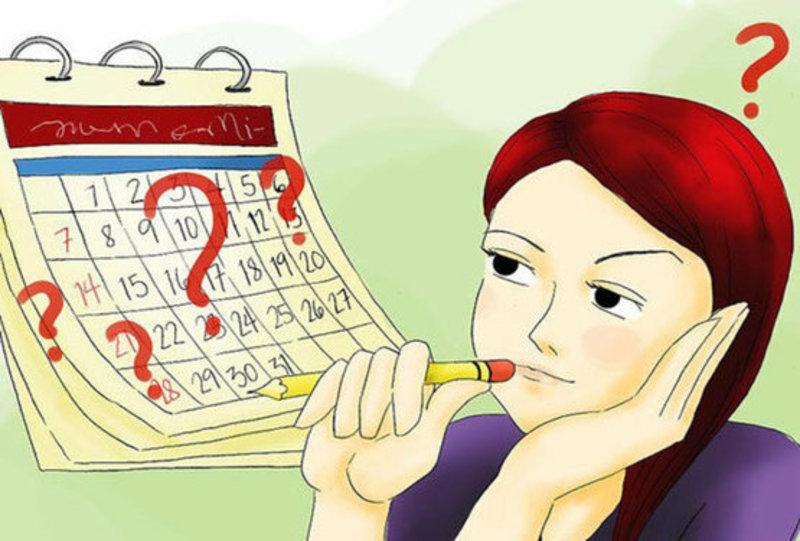 Chu kỳ rụng trứng và thụ thai thường xảy ra vào ngày 14 của chu kỳ