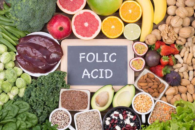 Để nhanh thụ thai, mọi người nên tích cực ăn các thực phẩm chứa nhiều axit folic