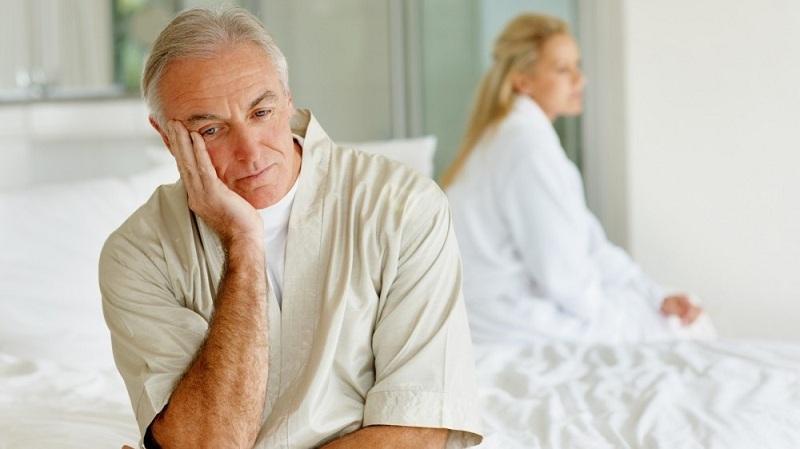 Mãn dục nam làm suy giảm chức chức năng tình dục ở nam giới