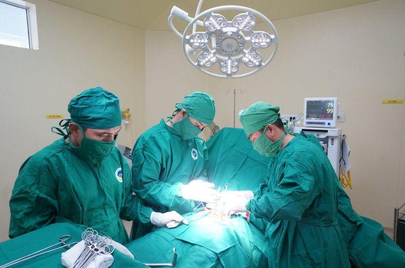 Phẫu thuật là phương pháp điều trị viêm vùng chậu khá triệt để