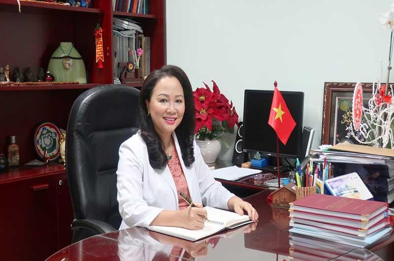 PGS. TS Trần Phan Chung Thủy - Giám đốc bệnh viện