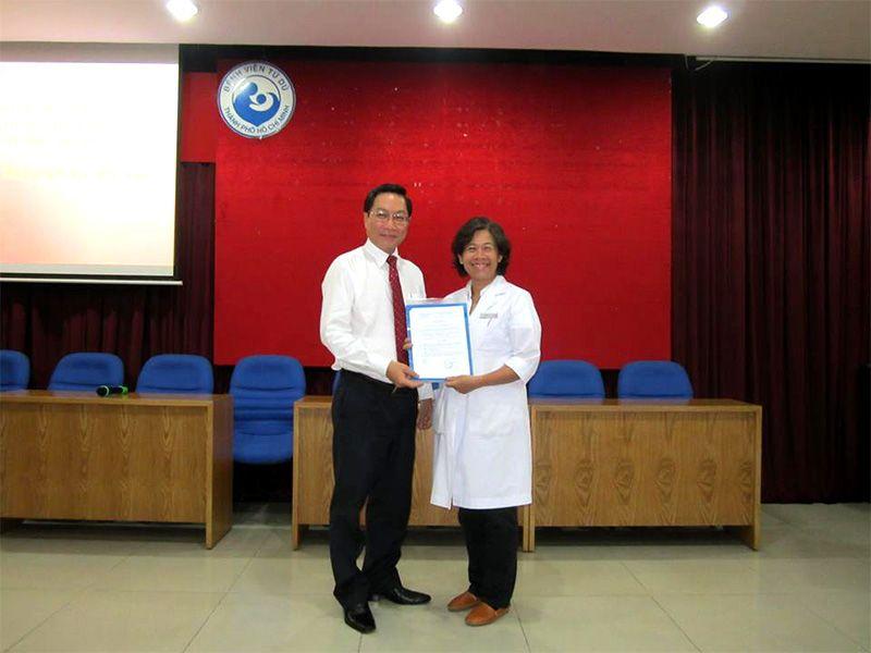 Bác sĩ Nguyễn Bá Mỹ Nhi được bổ nhiệm làm phó giám đốc bệnh viện Từ Dũ