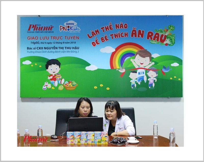 Bác sĩ Nguyễn Thị Thu Hậu chia sẻ làm thế nào để trẻ ăn rau