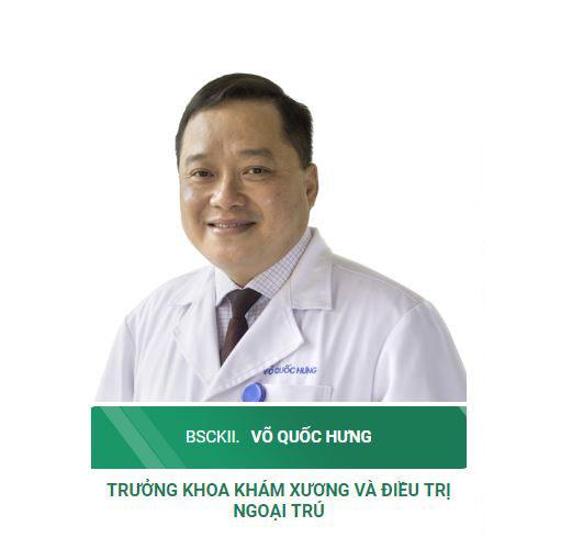 Bác sĩ Võ Quốc Hùng