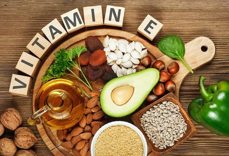 Bên cạnh việc uống vitamin E dễ thụ thai bạn cũng có thể bổ sung vitamin E thông qua thực phẩmBên cạnh việc uống vitamin E dễ thụ thai bạn cũng có thể bổ sung vitamin E thông qua thực phẩm