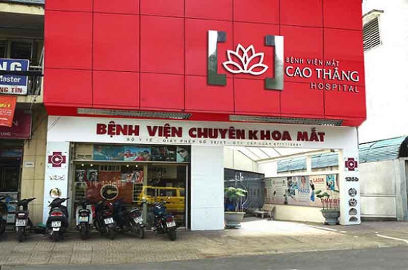 Bệnh viện Mắt Cao Thắng là bệnh viện mắt tư nhân chất lượng tại nước ta