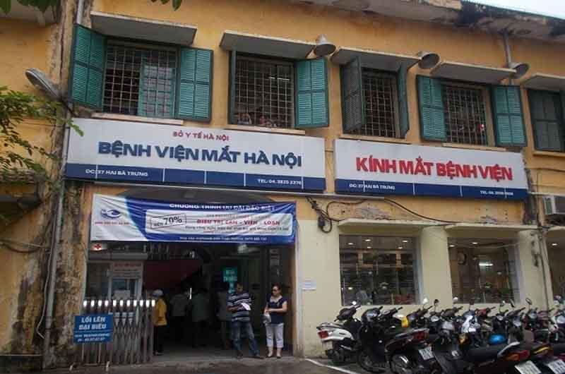 Bệnh viện Mắt Hà Nội là bệnh viện mắt uy tín và chất lượng tại thủ đô