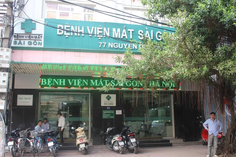 Bệnh viện Mắt Sài Gòn Hà Nội cơ sở 77 Nguyễn Du