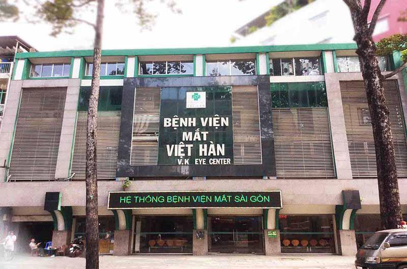 Bệnh viện Mắt Việt Hàn là cơ sở 3 của Bệnh viện Mắt Sài Gòn