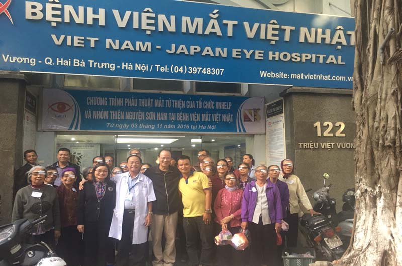 Bệnh viện Mắt Việt Nhật là địa chỉ khám chữa bệnh về mắt uy tín của người dân