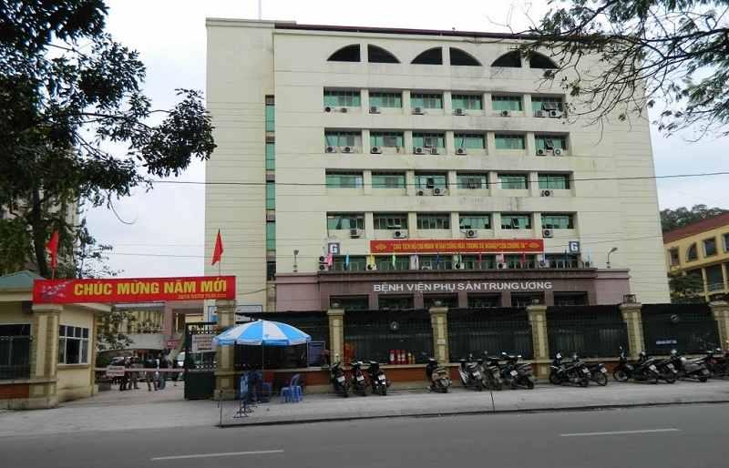 Bệnh viện Phụ sản Trung ương là địa chỉ chữa nấm phụ khoa khá uy tín