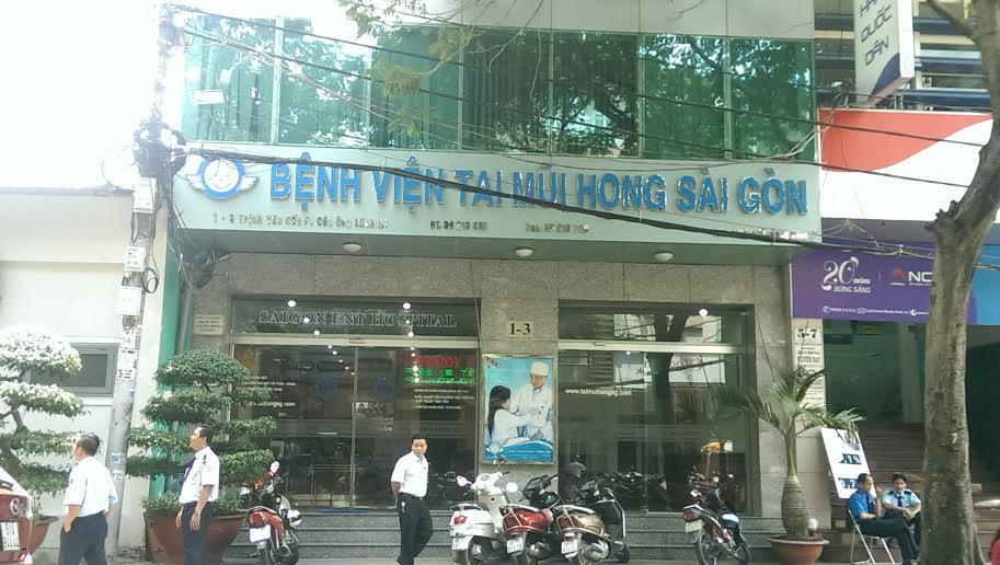 Bệnh viện Tai Mũi Họng Sài Gòn là địa chỉ khám chữa bệnh uy tín của người dân thành phố