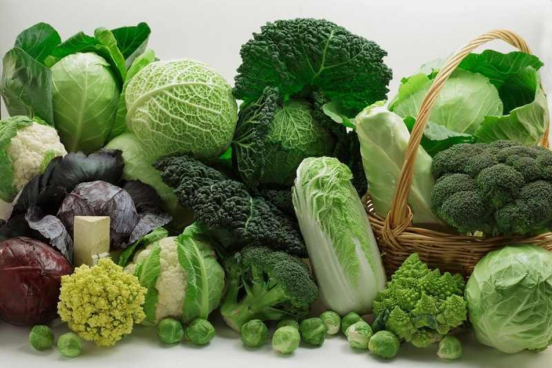 Các loại rau xanh hỗ trợ rất tốt cho quá trình chữa nấm phụ khoa ở nữ giới