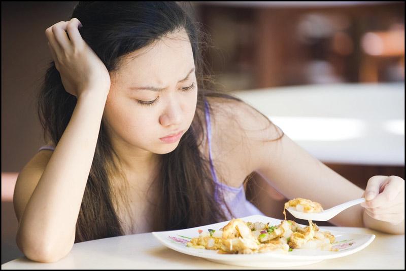 Chán ăn là dấu hiệu có thai 3 tuần