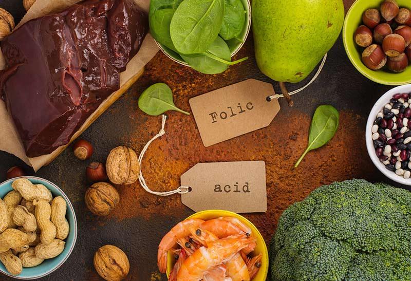 Chế độ dinh dưỡng chuẩn bị mang thai không thể thiếu các thực phẩm chứa axit folic