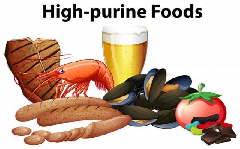 Chữa bệnh gút bằng thuốc nam cần kiêng một số thực phẩm giàu purin