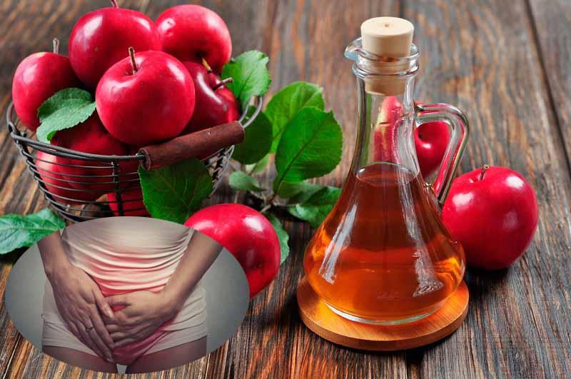 Chữa nấm Candida hiệu quả từ giấm táo