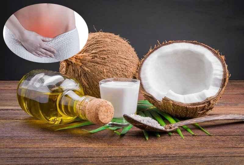 Chữa nấm phụ khoa bằng dầu dừa như thế nào?