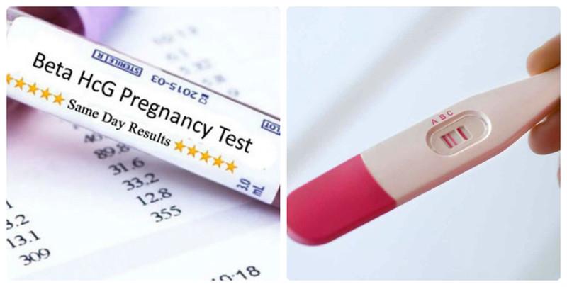 Có hai cách thử thai phổ biến là dùng que thử và xét nghiệm máu