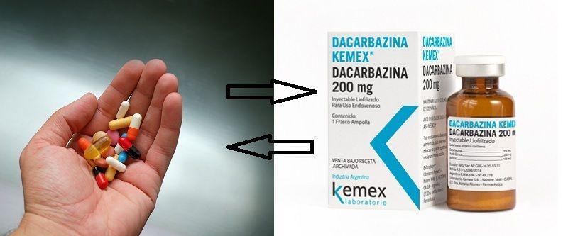 Dacarbazine tương tác với những loại thuốc nào?