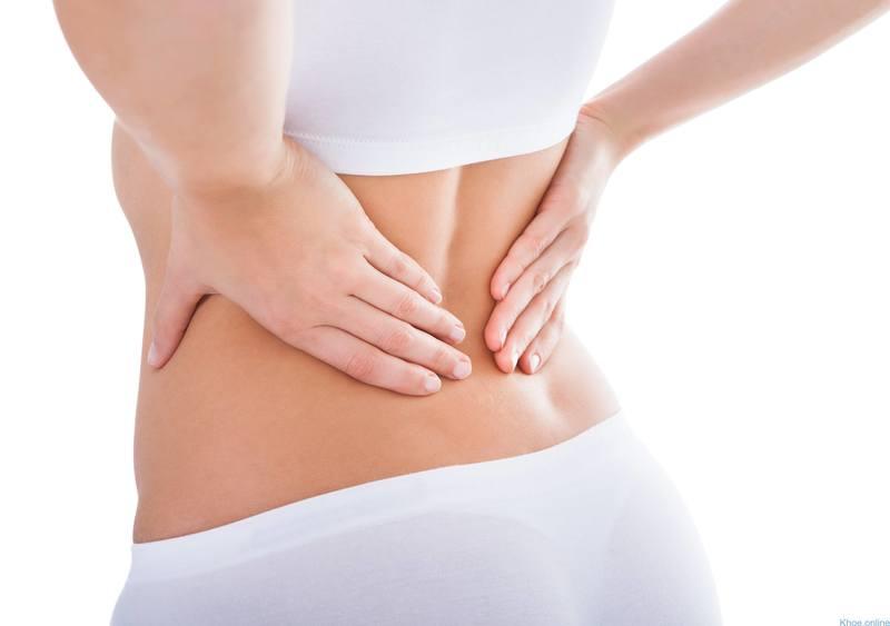 Đau lưng khi mới thụ thai thường là cơn đau âm ỉ