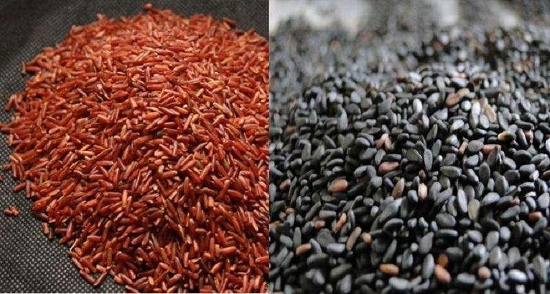 Gạo lức và mè đen kết hợp giúp trị gout hiệu quả