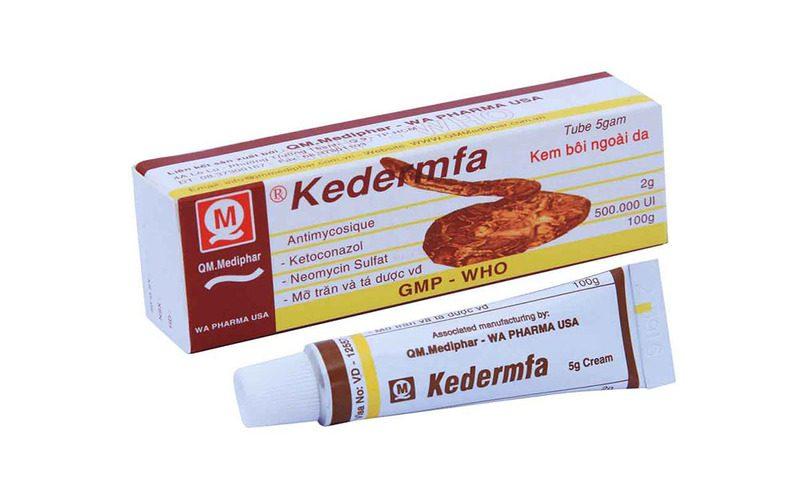 Thuốc bôi là một trong những cách trị hắc lào ở mông được nhiều người dùng