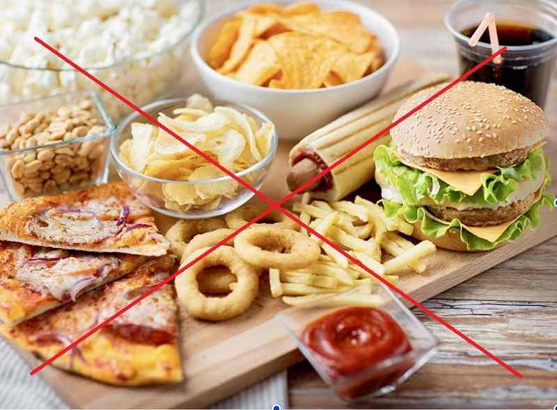 Hạn chế hàm lượng đường và chất béo trong khẩu phần ăn hàng ngày để ngăn ngừa nấm Candida