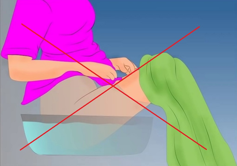 Không ngâm hay thụt rửa vùng kín bằng nước trầu không
