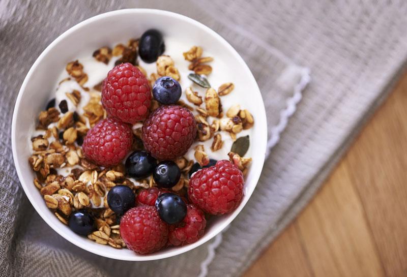 Ngũ cốc là một trong các thực phẩm chứa acid folic