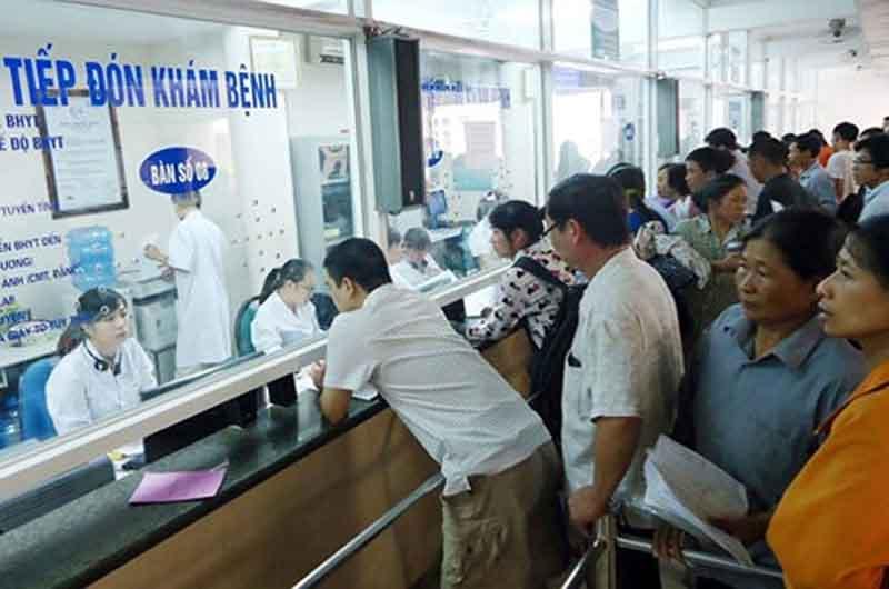 Người bệnh cần nắm rõ quy trình khám tại Bệnh viện Da liễu Trung ương