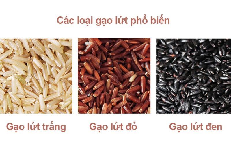 Những loại gạo lức phổ biến ở Việt Nam