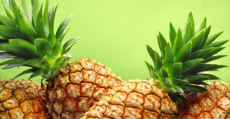Quả dứa có hàm lượng dinh dưỡng cao và nhiều chất chống oxi hóa