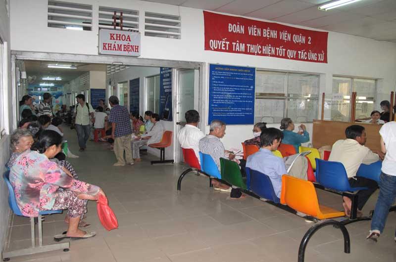 Thăm khám bệnh tại Bệnh viện Da liễu Thái Nguyên