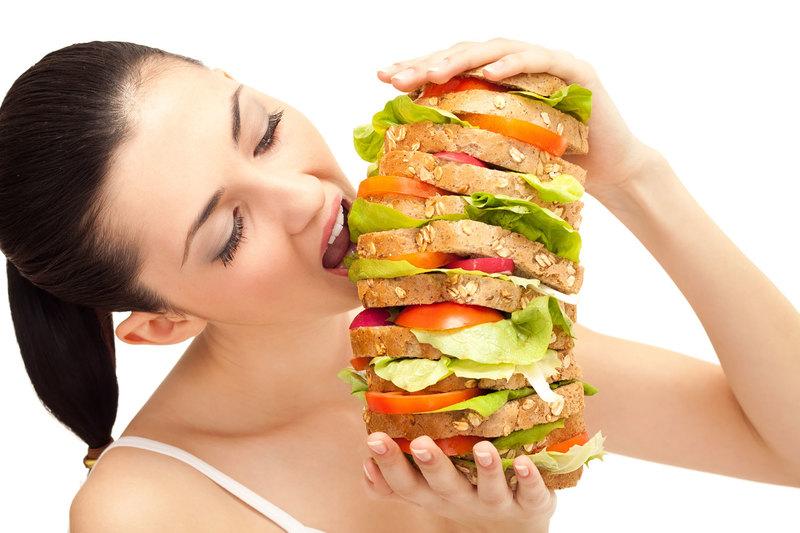 Thèm ăn nhiều hơn khi mang thai