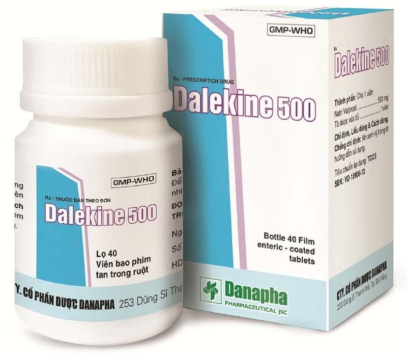 Thuốc Dalekine có công dụng như thế nào?