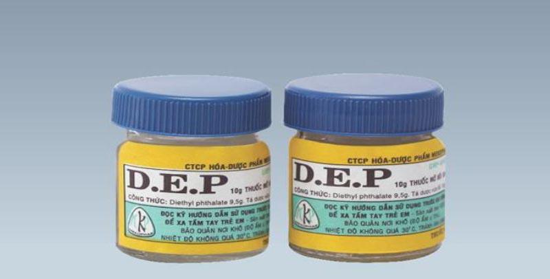 Thuốc DEP trị ghẻ