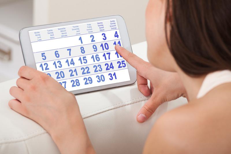 Trễ kinh là một trong những triệu chứng có thai 1 tháng đầu