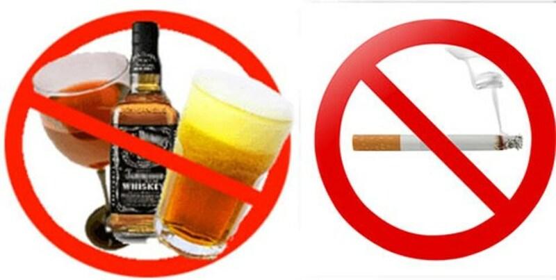 Từ bỏ thuốc lá rượu bia giúp tăng khả năng thụ thai trong ống nghiệm