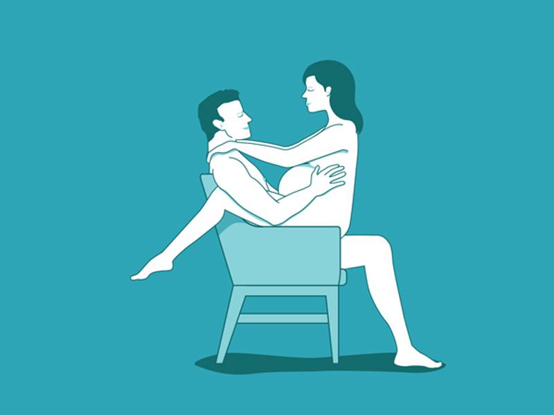 Tư thế mặt đối mặt cũng an toàn đối với phụ nữ mang thai