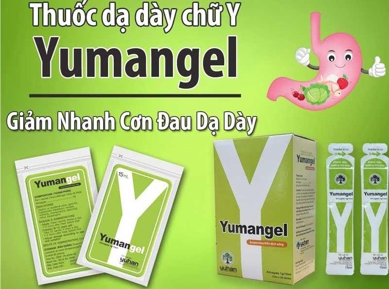 Yumangel giúp kháng acid và điều trị nhiều vấn đề đường tiêu hóa